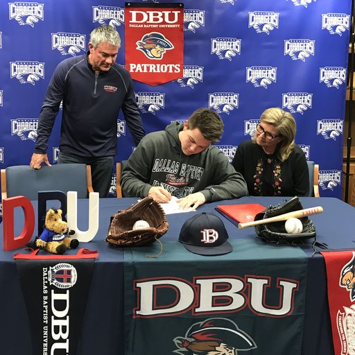 Shelton's Cole Reeves to Play Ball with DBU