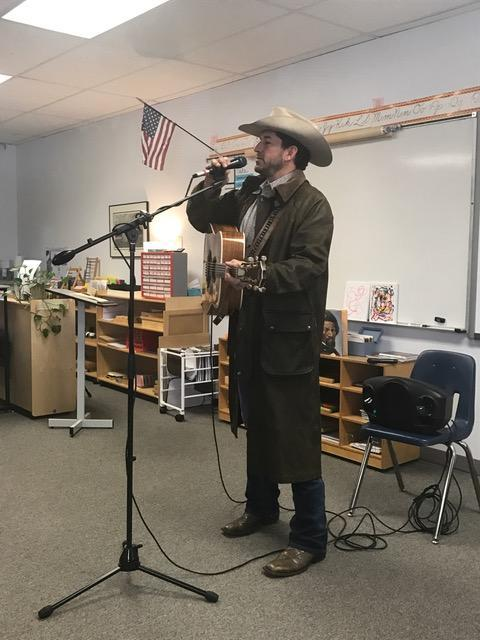 Texas Food and Music Are a Hit with Upper Elementary