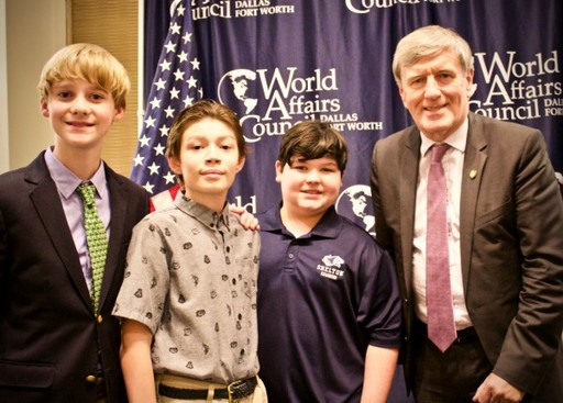 Shelton Students Attend World Affairs Council Event