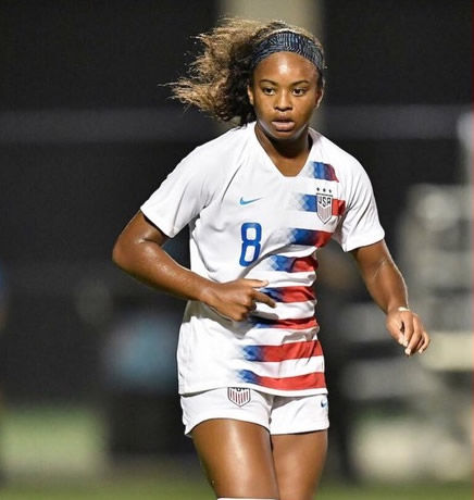 Trinity Byars Represents USA at Age 15