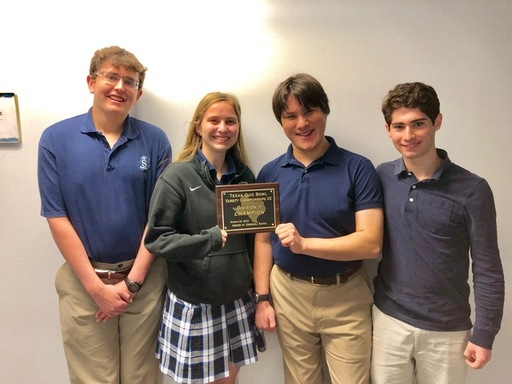 Shelton Quiz Bowl Team Division II State Champs