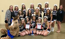 National Honors for Charger Cheer