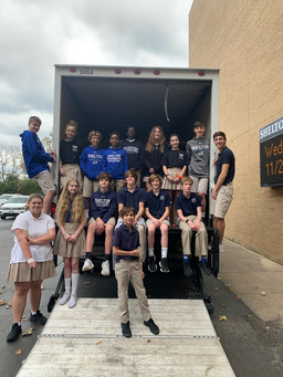 Holiday Canned Food Drive A Success