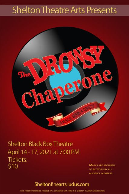 THE DROWSY CHAPERONE OPENS APRIL 14 PRODUCTION TO BE LIVE-STREAMED